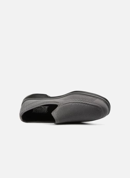 Sportschuhe Skechers WALSON MORADO grau ansicht von links