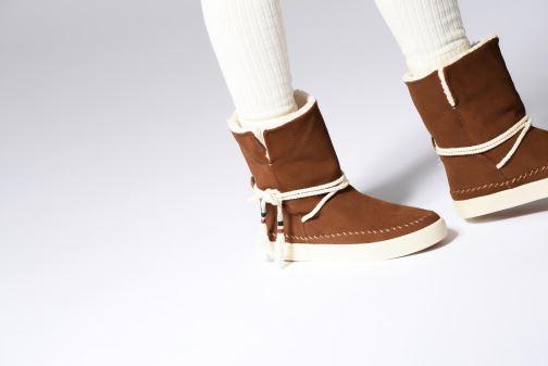 Bottines et boots TOMS Vista Bleu vue bas / vue portée sac
