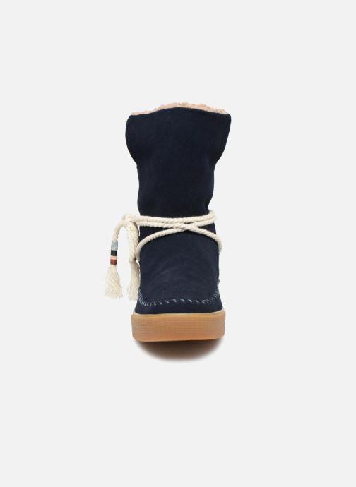 Bottines et boots TOMS Vista Bleu vue portées chaussures