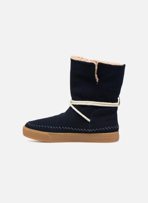Bottines et boots TOMS Vista Bleu vue face