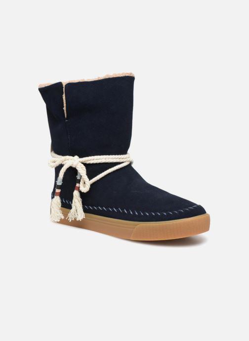 Bottines et boots TOMS Vista Bleu vue détail/paire