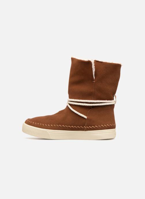 Bottines et boots TOMS Vista Marron vue face
