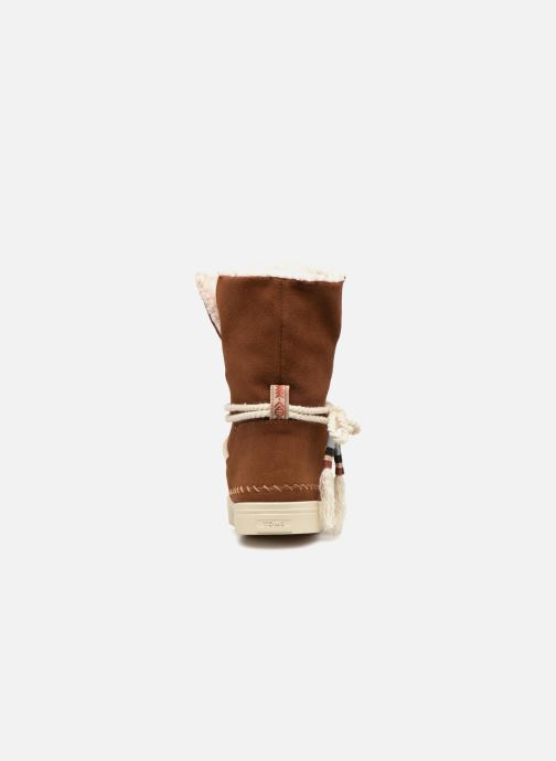 Bottines et boots TOMS Vista Marron vue droite