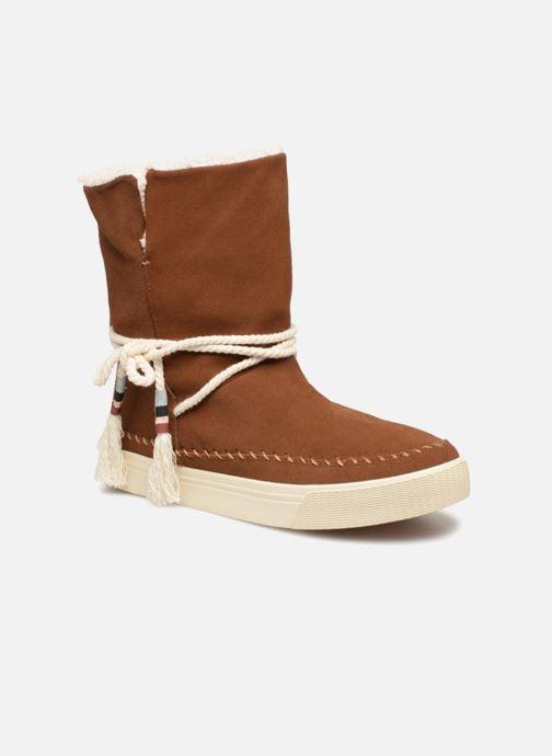 Bottines et boots TOMS Vista Marron vue détail/paire