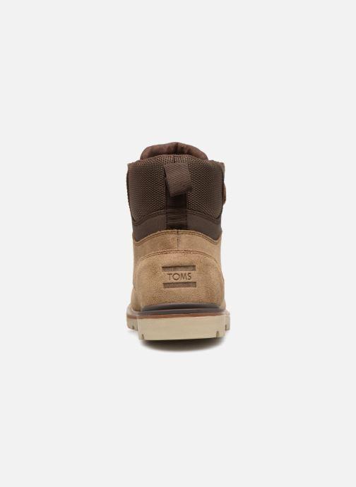Bottines et boots TOMS Ashland Marron vue droite