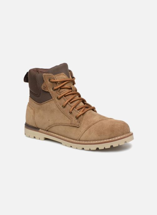 Bottines et boots TOMS Ashland Marron vue détail/paire