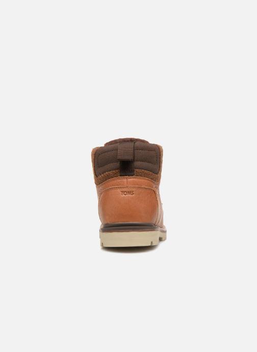 Bottines et boots TOMS Hawthorne Marron vue droite