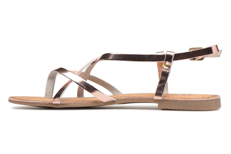 Sandales et nu-pieds Gioseppo Rocfar 2 Or et bronze vue face