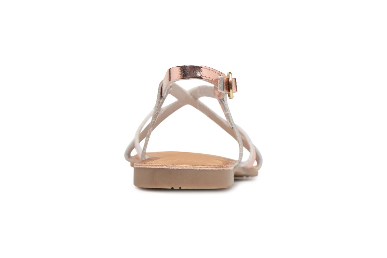 Sandales et nu-pieds Gioseppo Rocfar 2 Or et bronze vue droite