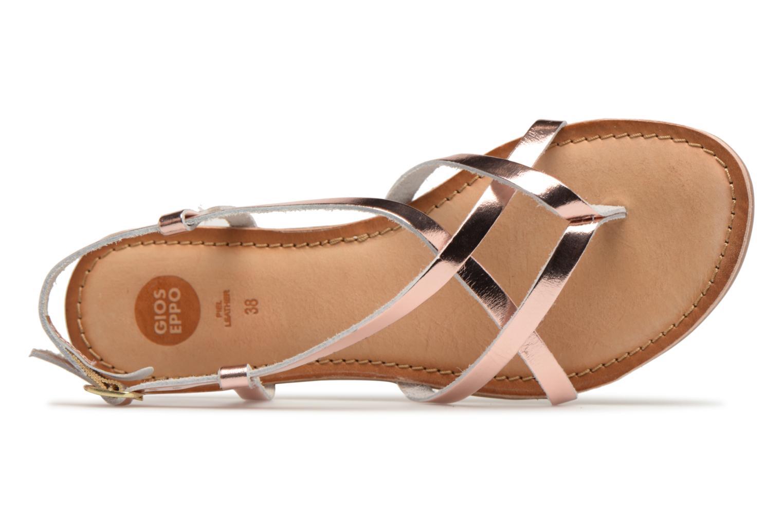 Sandales et nu-pieds Gioseppo Rocfar 2 Or et bronze vue gauche