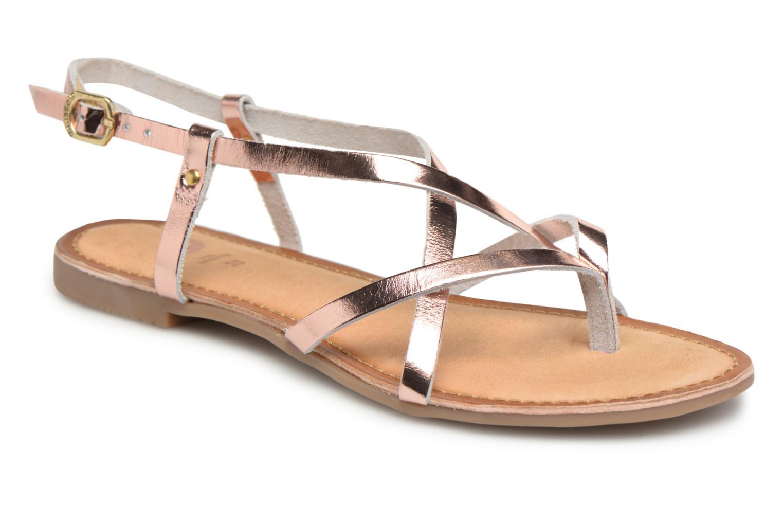 Sandales et nu-pieds Gioseppo Rocfar 2 Or et bronze vue détail/paire