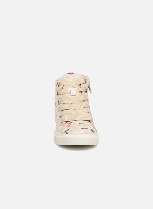 Baskets Esprit Cherry Rainbow Bootie Blanc vue portées chaussures