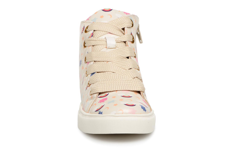 Sneaker Esprit Cherry Rainbow Bootie weiß schuhe getragen
