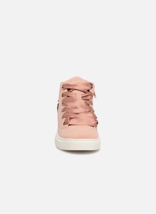 Sneaker Esprit Cherry Butterfly Bootie rosa schuhe getragen