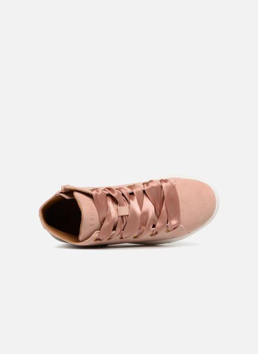 Sneaker Esprit Cherry Butterfly Bootie rosa ansicht von links