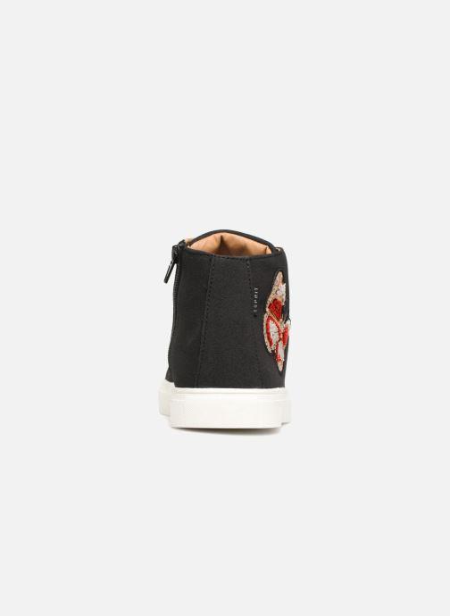 Sneaker Esprit Cherry Butterfly Bootie schwarz ansicht von rechts