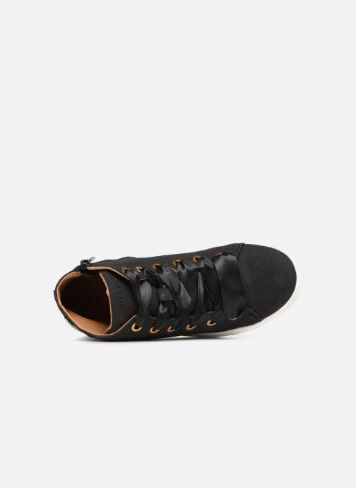 Sneaker Esprit Cherry Butterfly Bootie schwarz ansicht von links