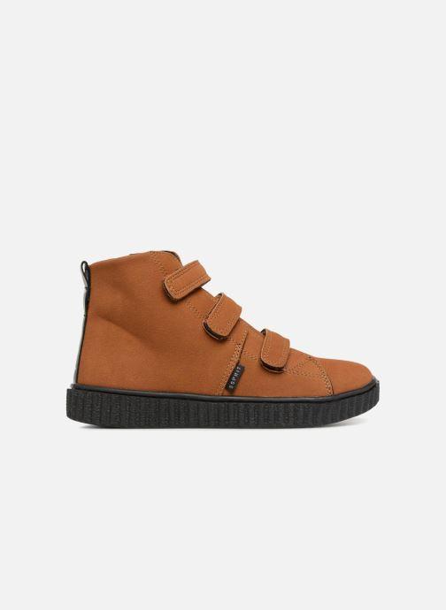 Sneakers Esprit Harry Strap Bootie Bruin achterkant