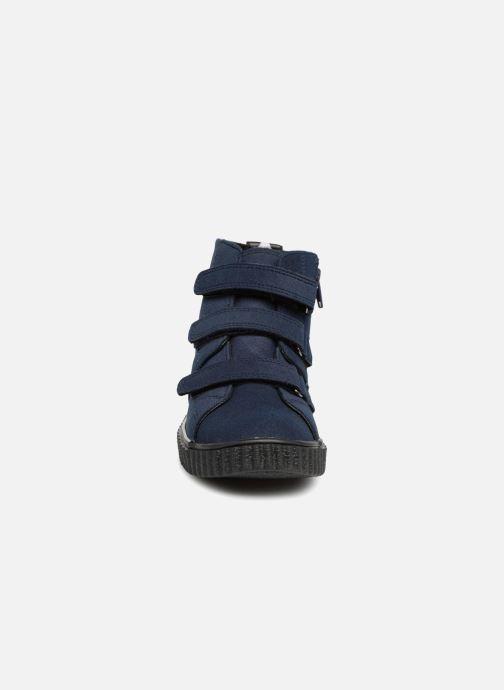Baskets Esprit Harry Strap Bootie Bleu vue portées chaussures