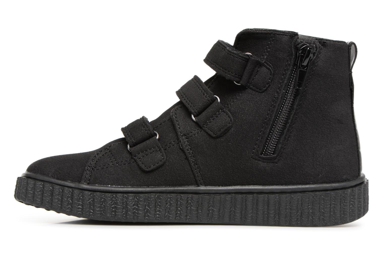 Sneaker Esprit Harry Strap Bootie schwarz ansicht von vorne