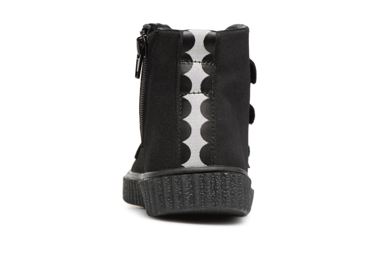 Sneaker Esprit Harry Strap Bootie schwarz ansicht von rechts
