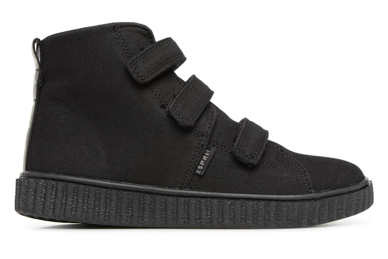 Sneaker Esprit Harry Strap Bootie schwarz ansicht von hinten