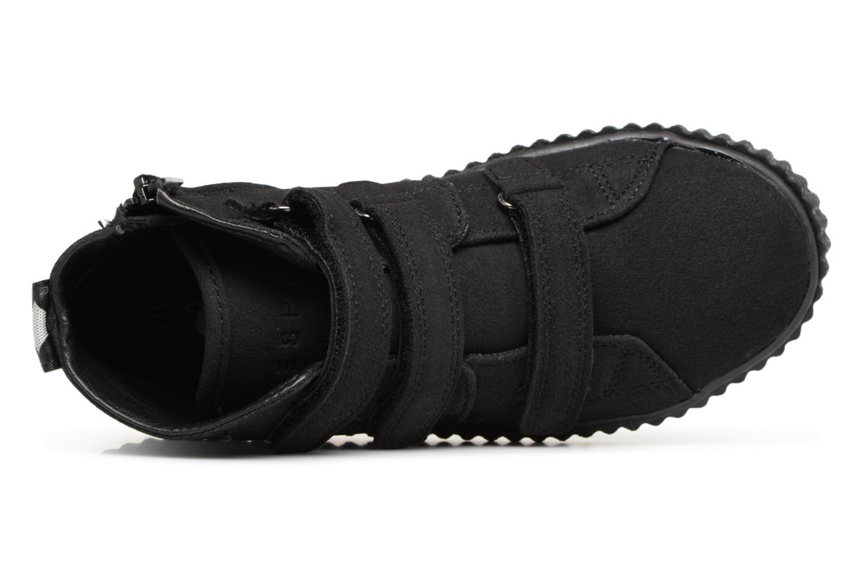 Sneaker Esprit Harry Strap Bootie schwarz ansicht von links