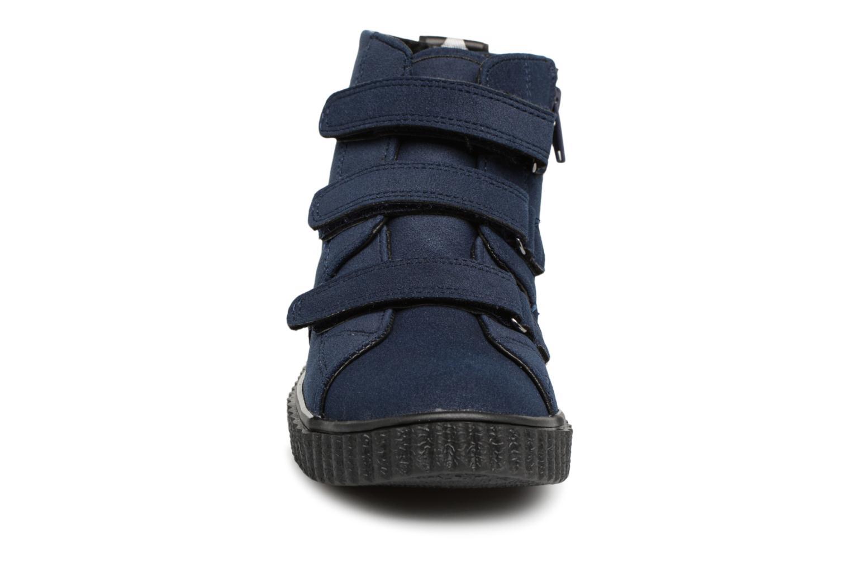 Sneaker Esprit Harry Strap Bootie blau schuhe getragen