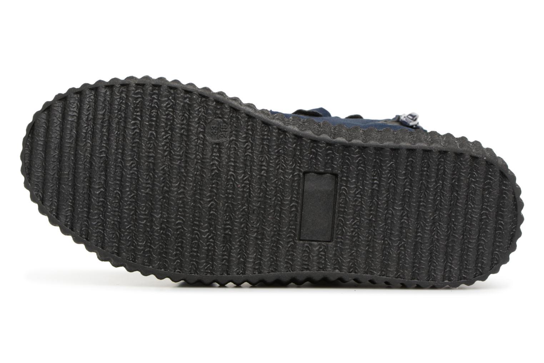 Sneaker Esprit Harry Strap Bootie blau ansicht von oben