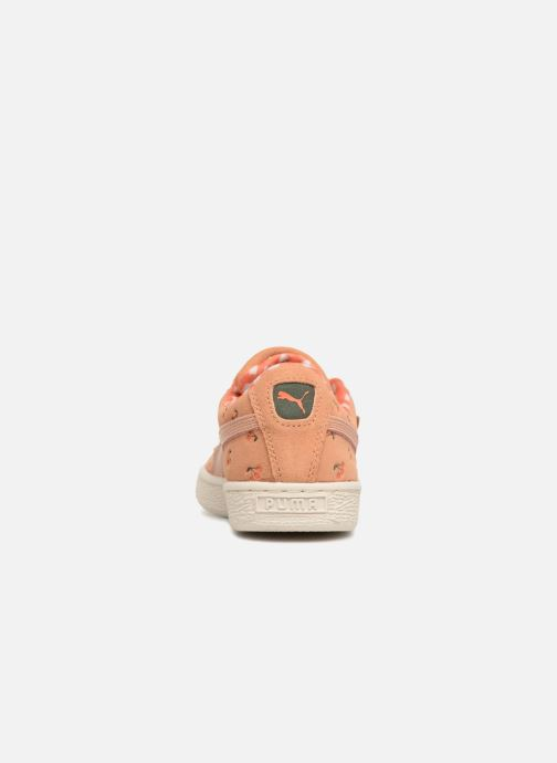 Trainers Puma PUMA x TC Suede LDN Jr Orange view from the right