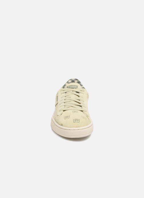 Puma PUMA x TC Suede LDN Jr (Groen) Sneakers chez Sarenza