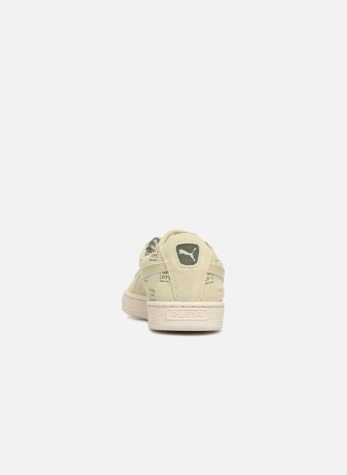 Trainers Puma PUMA x TC Suede LDN Jr Green view from the right