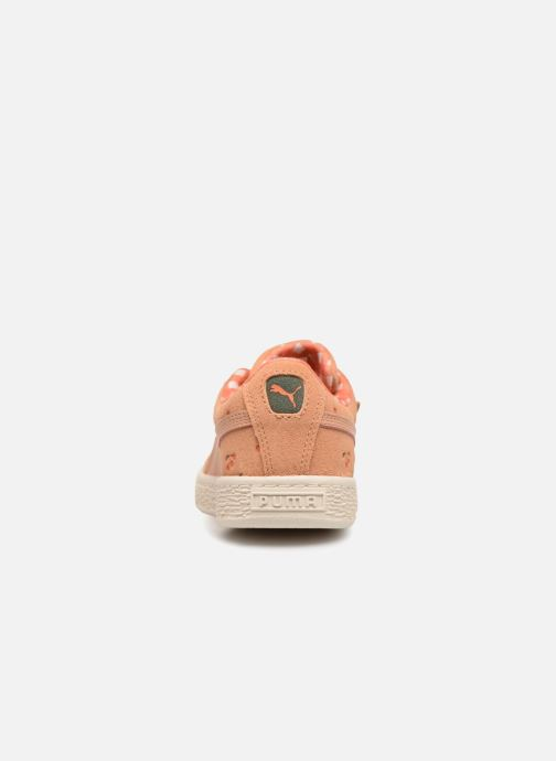 Trainers Puma PUMA x TC Suede LDN AC PS Orange view from the right