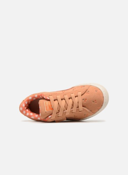 Trainers Puma PUMA x TC Suede LDN AC PS Orange view from the left