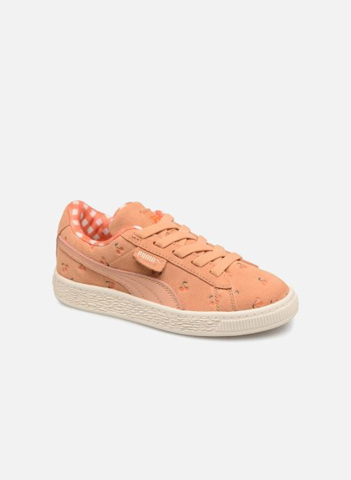 Trainers Puma PUMA x TC Suede LDN AC PS Orange detailed view/ Pair view