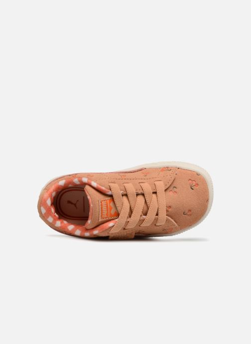 Baskets Puma PUMA x TC Suede LDN AC Inf Orange vue gauche