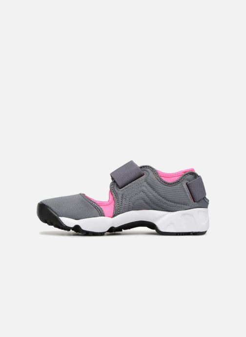 Trainers Nike Rift (Gs/Ps Girls) Grey front view