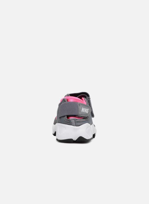 Baskets Nike Rift (Gs/Ps Girls) Gris vue droite