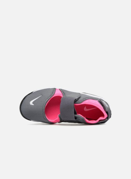 Trainers Nike Rift (Gs/Ps Girls) Grey view from the left