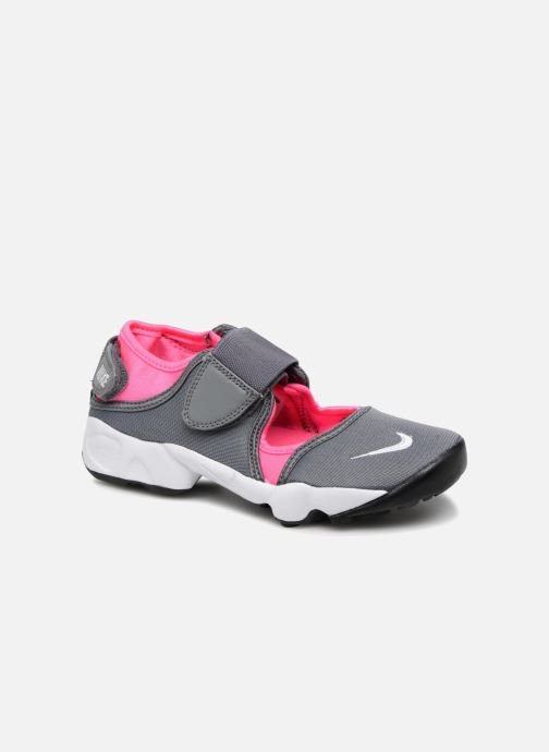 Baskets Nike Rift (Gs/Ps Girls) Gris vue détail/paire