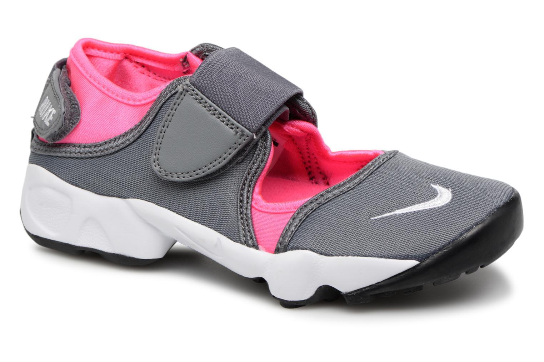 Baskets Nike Rift (Gs/Ps Girls) Gris vue détail/paire