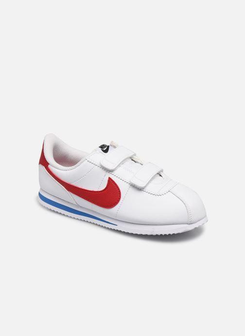 Deportivas Nike Cortez Basic Sl (Psv) Blanco vista de detalle / par