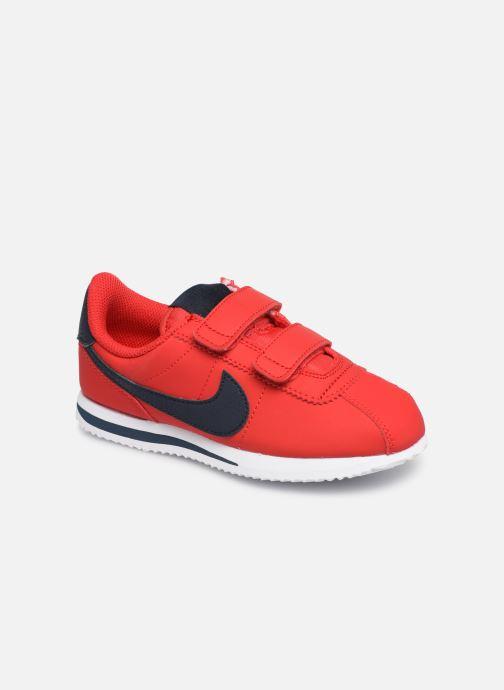 low priced 7a76e ddec8 Sneakers Nike Cortez Basic Sl (Psv) Röd detaljerad bild på paret