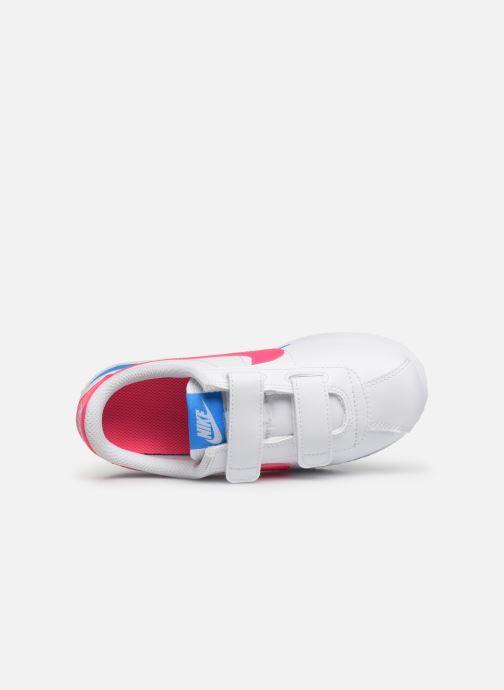 Deportivas Nike Cortez Basic Sl (Psv) Blanco vista lateral izquierda