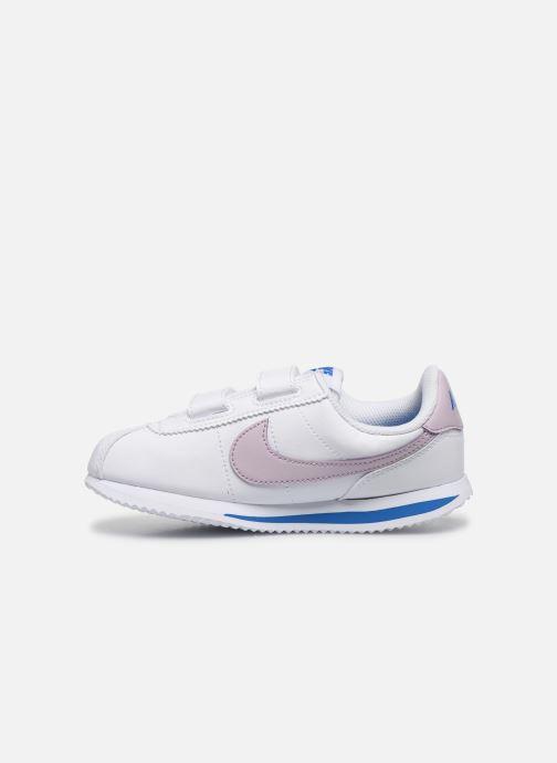 Deportivas Nike Cortez Basic Sl (Psv) Blanco vista de frente