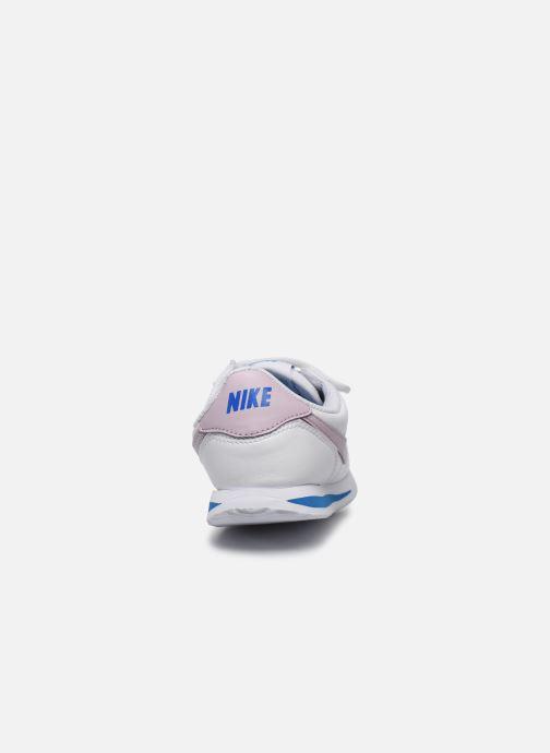 Deportivas Nike Cortez Basic Sl (Psv) Blanco vista lateral derecha