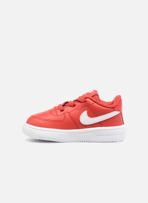 Trainers Nike Force 1 '18 (Td) Red front view