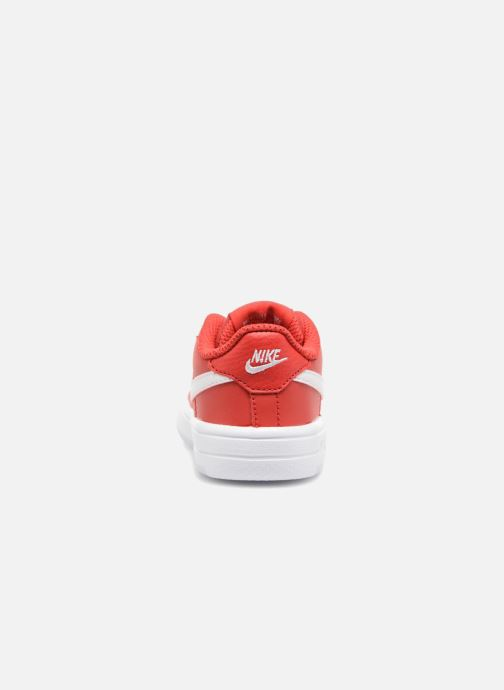 Trainers Nike Force 1 '18 (Td) Red view from the right