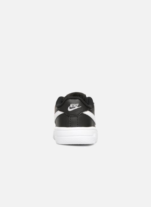 Trainers Nike Force 1 '18 (Td) Black view from the right