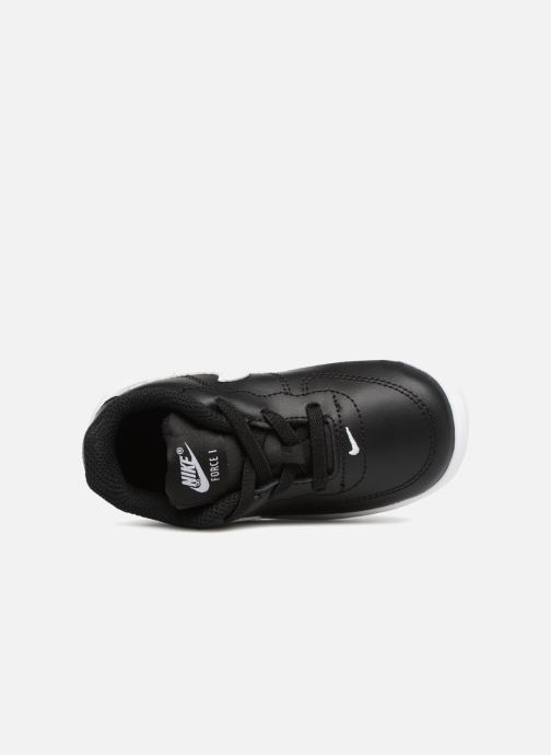Trainers Nike Force 1 '18 (Td) Black view from the left